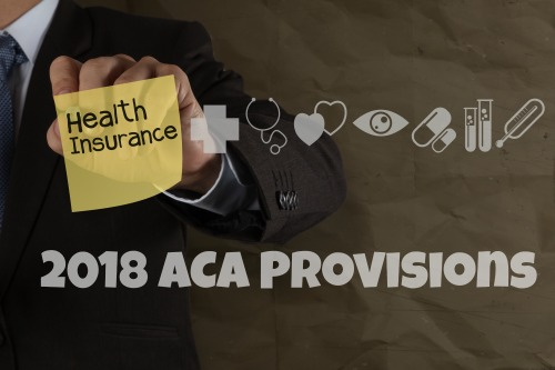 2018 Notice of Change for ACA Provisions