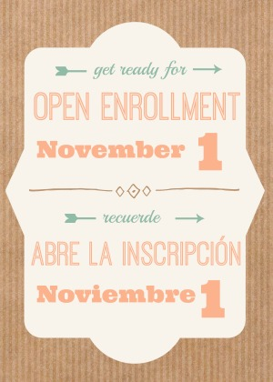 Open Enrollment 2018 Starts on November 1