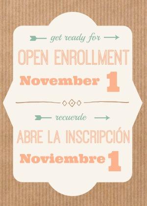 Open enrollment 2018