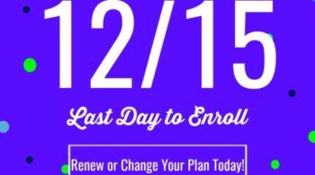 open enrollment ends